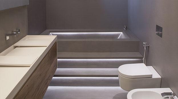 Vasca Da Bagno In Cemento : Vasca da bagno in resina vasca da bagno in muratura il meglio di